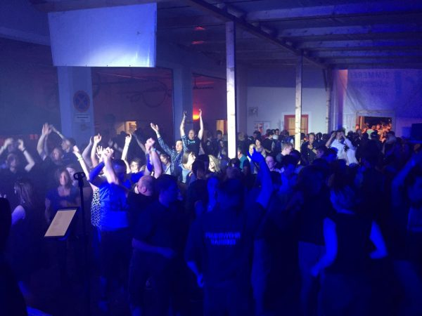 Blue Light Party 2017